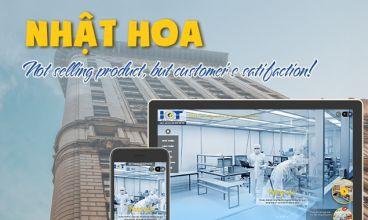 Thiết kế website - Nhật Hoa IC&T