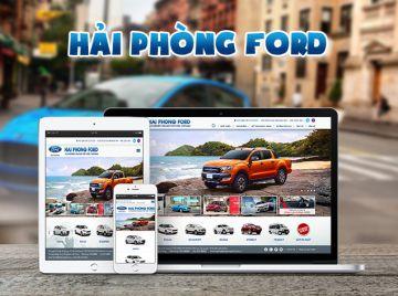 Thiết kế web Hải Phòng Ford
