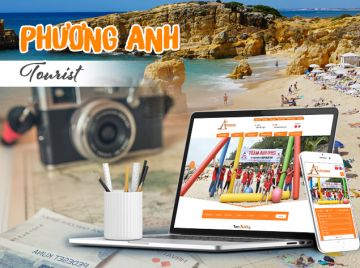 Thiết kế web Phương Anh Tourist