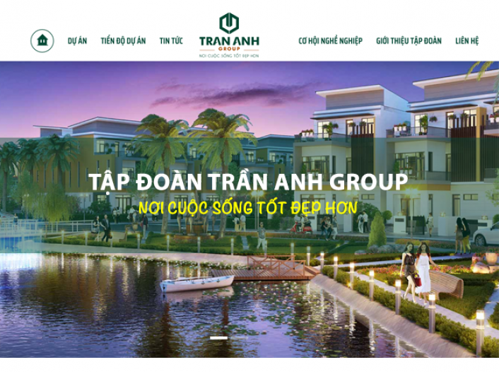 Thiết kế website - Trần Anh Group